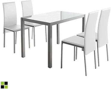 Conjunto mesa y sillas