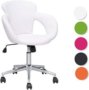 Sillas escritorio blancas