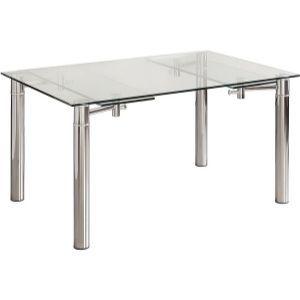 Mesa de comedo de cristal