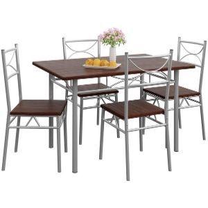 Conjunto de mesa y sillas