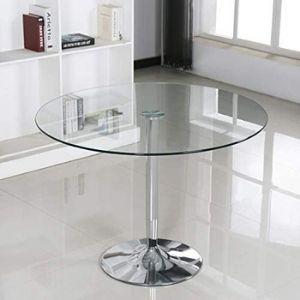Mesas de cocina de cristal